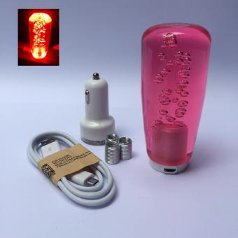 10cm Led Bubble Shift Knob (Red Knob with Red Led Light) Price Philippines