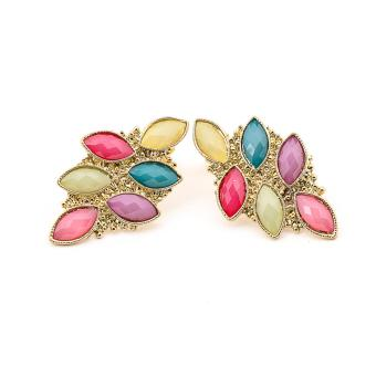 Jewelworld Multi Chic Bangkok Plated Earrings (gold) Price Philippines