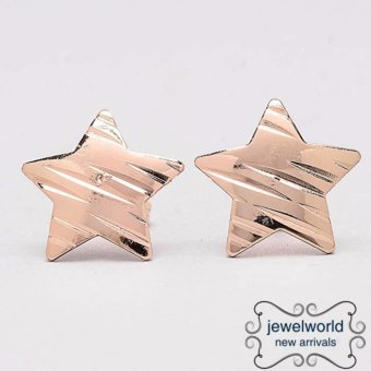 Jewelworld Star Bangkok Plated Earrings (gold) Price Philippines