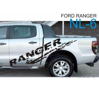 Harga Ranger , Ford Ranger Body Sticker NL6 (Black)