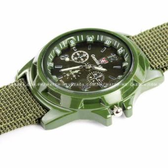 Harga Gemius Army Men's Military Sport Canvas Strap Watch