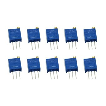 Harga Fang Fang Ohm Trimmer Potentiometer 10-piece (Blue)