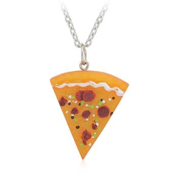 Fashion Jewelry Pizza Slice Friendship Necklace - intl Price Philippines