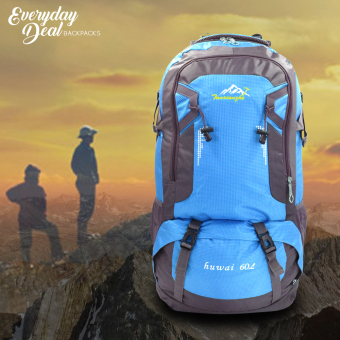 Sport Outdoor Andrew Rucksaks Climbing Knapsack Bag 60L (Blue) Price Philippines