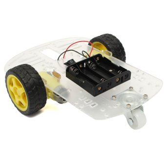 New Smart Motor Robot Car Chassis Battery Box Kit Speed Encoder for Arduino - intl Price Philippines