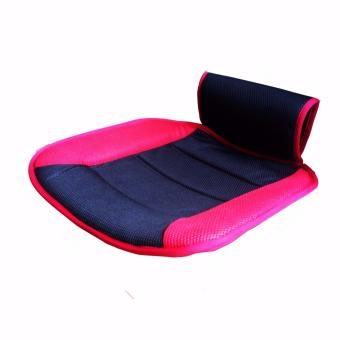 Harga 1 Piece Car Seat Cushion For Front Seat Pad Polyester Red Seat Mat Interior Car Accessories Car Seat Cover - intl