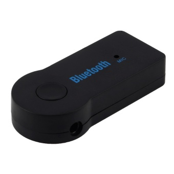 Wireless Bluetooth Stereo Music Receiver Handsfree for Car AUX - intl Price Philippines