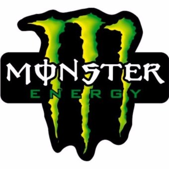Harga MONSTER ENERGY Stickers for Car Motors Design