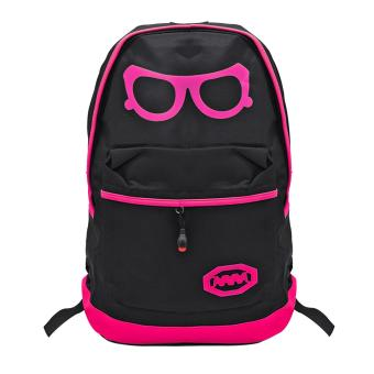 School Back Pack Bag Sunglass Design (Pink) Price Philippines