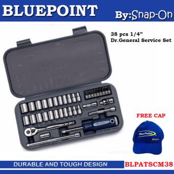 "Socket Set 1/4"" DR 38PCS Bluepoint BLPATSCM38 Price Philippines"