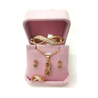 Infinity bangkok gold jewelry set Price Philippines