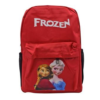 School Back Pack Bag Frozen Design (Red) Price Philippines