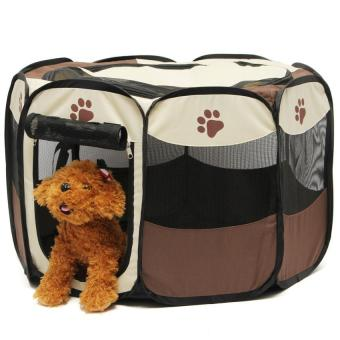 Pet Home Fence Dog Bed Kennel Play Pen Puppy Soft PlaypenExerciseRun Cage Folding Crate Price Philippines