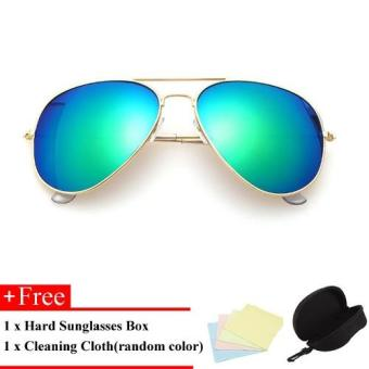 Harga Aviator Sun Glasses For Women and Man Cool Sunglasses - intl