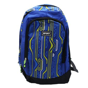 Harga Sports Multi-Purpose Backpack BP-E1 (Blue)