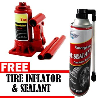 Harga Prostar 2 Ton Bottle Jack with Free Tire Inflator Sealer