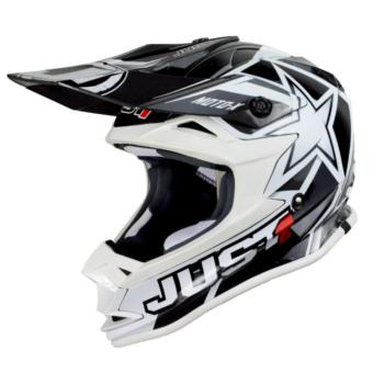 Harga JUST1 J32 PRO MOTO X WHITE MOTOCROSS HELMET (2017 Collection) - XL