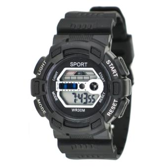 Harga SPORT Multifunction Sports Watch WR30M (Black)