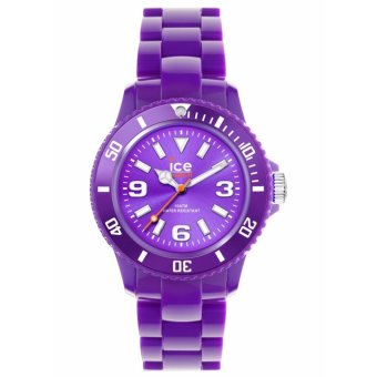 Harga Ice Solid Med Purple Unisex Watch I000630
