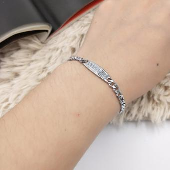 Fantasy Ladies Stainless Steel Chain Bracelet AC10040 Price Philippines