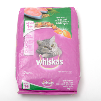 Harga Whiskas Tuna Flavour Cat Food 7kg