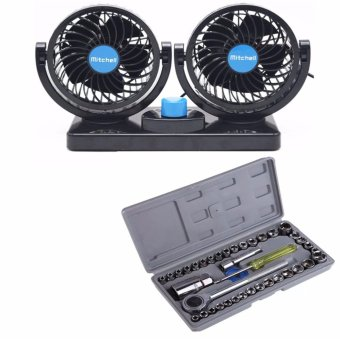 Mitchell Double-Headed Vehicle Fan WITH Aiwa Combination Socket Wrench 40-piece Set Price Philippines