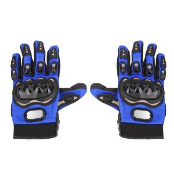 Outdoor Riding Motorcycle Gloves (Blue) - intl Price Philippines