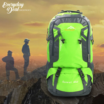 Sport Outdoor Andrew Rucksaks Climbing Knapsack Bag 60L (Green) Price Philippines