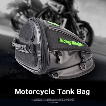 RIDING TRIBE PU Leather Motorcycle Bag Motorbike Bags Handbag Backpack - intl Price Philippines