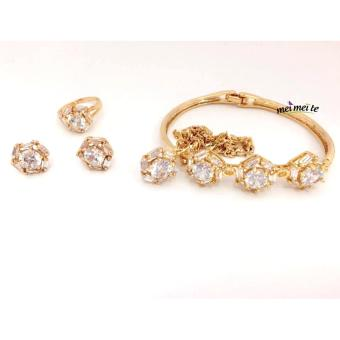 MEI MEI Pea Shape 14k Bangkok Jewelry Set Price Philippines