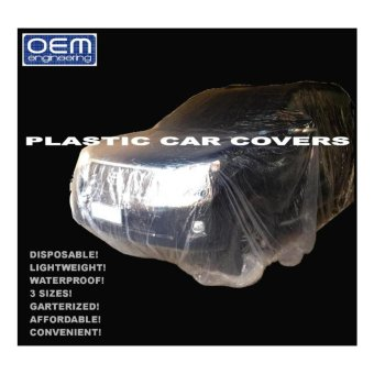 OEM Engineering DISPOSABLE PLASTIC CAR COVERS Large 1 pc Price Philippines
