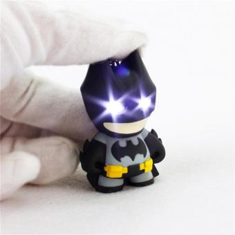 Arrive Batman keychain Led keychain with sound Flashlight cool keyrings - intl Price Philippines