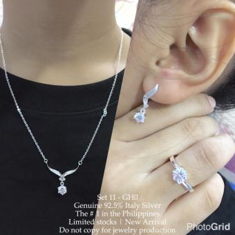 Harga Silver Kingdom PH Tiffany Jewelry Set V4