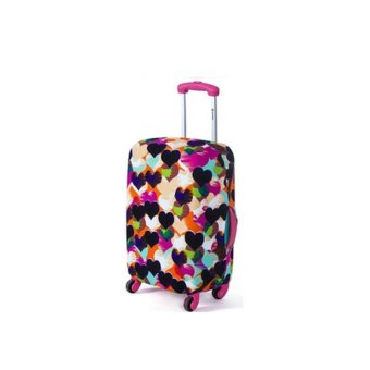 Harga luggage cover(style: LOVE) - intl