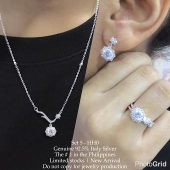Harga Silver Kingdom PH Tiffany Jewelry Set V13