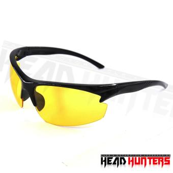 Protech Fashionable Motorcycle Riders Unisex Sunglasses - Sun Protector Shades (Yellow) Price Philippines