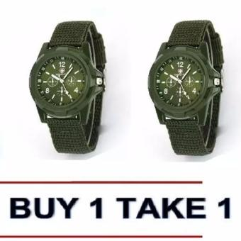 Harga Gemius Army Military Sports Style Army Green Buy 1 Take 1