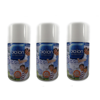 Bio Ion Deo Sanitizer Aerosol Refill 250ml (Peppermint Scent ) Set of 3 Price Philippines