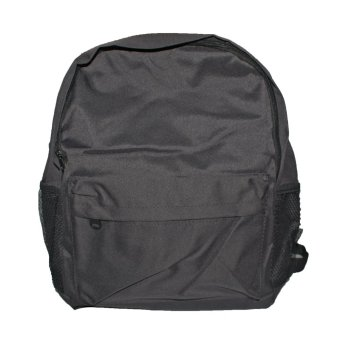 School bag Back Pack (Plain Black) Price Philippines