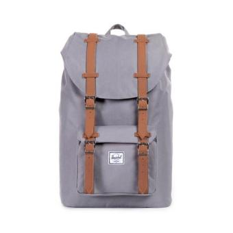 Harga Herschel Supply Co. Little America Mid-volume Backpack (Grey/Tan)