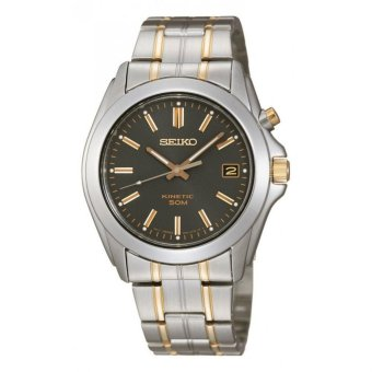 Harga Seiko Kinetic Dark grey Dial Watch(SKA271P1) - intl