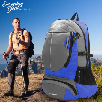 Everyday Deal Andrew Mountain Backpack Outdoor Sports Bag (Blue) Price Philippines