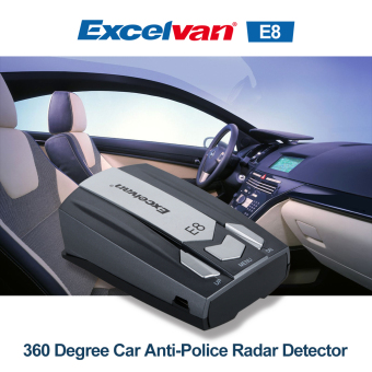 Harga Excelvan 360 Degree Car Full 16 Band E8 Speed Safety Radar Detector
