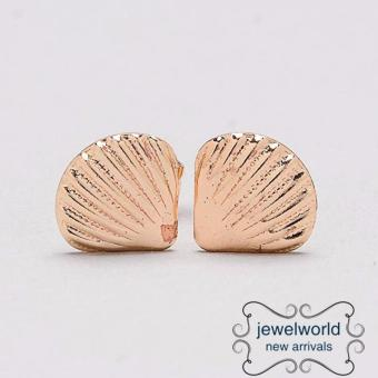Jewelworld Shell Bangkok Plated Earrings (gold) Price Philippines