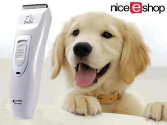 Harga niceEshop Codos KP-3000 Dog Cat Pet Animal Hair Mains/rechargeable Digital Clipper Trimmer Kit