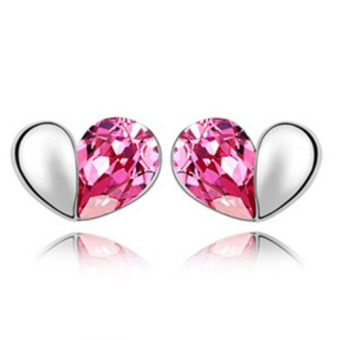 ONLY 925 Silver Beautiful Heart Earrings Price Philippines