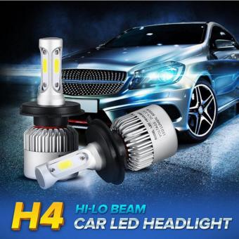 H1/H4/H7/H11/H13/9005/9006 COB 72W LED Car Headlight Bulbs 6500K 8000LM Headlight All-In-One Hi-Lo/Single Beam Fog lamps - intl Price Philippines