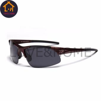LOVE&HOME DAIWA Outdoor Sport Fishing Cycling, Climbing Sunglasses Men or Women (Brown) Price Philippines