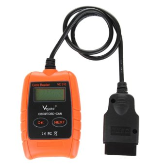Harga Vgate VC310 Compact Universal ODB2 Auto Scan Error Scanner Code Reader OBDII ODB 2 Automotive Car Diagnostic Tool - intl