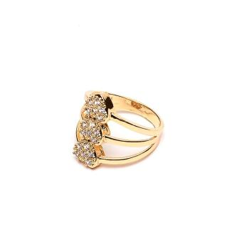 Harga Glamorosa Diamond Heartstrings Ring (Gold)